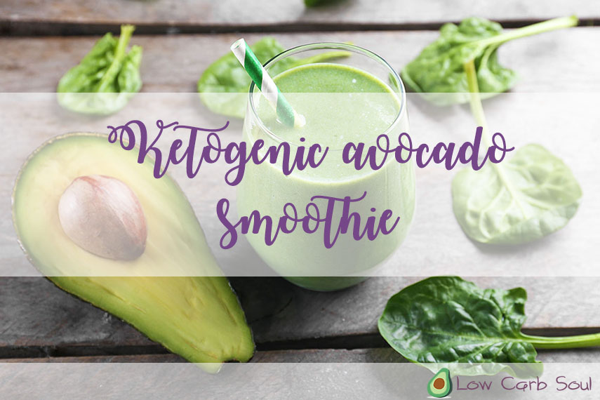 ketogenic green smoothie