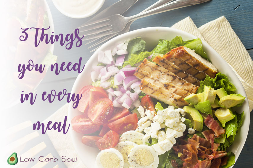 3 things in every meal